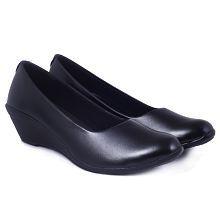 Addo Black Formal Shoes