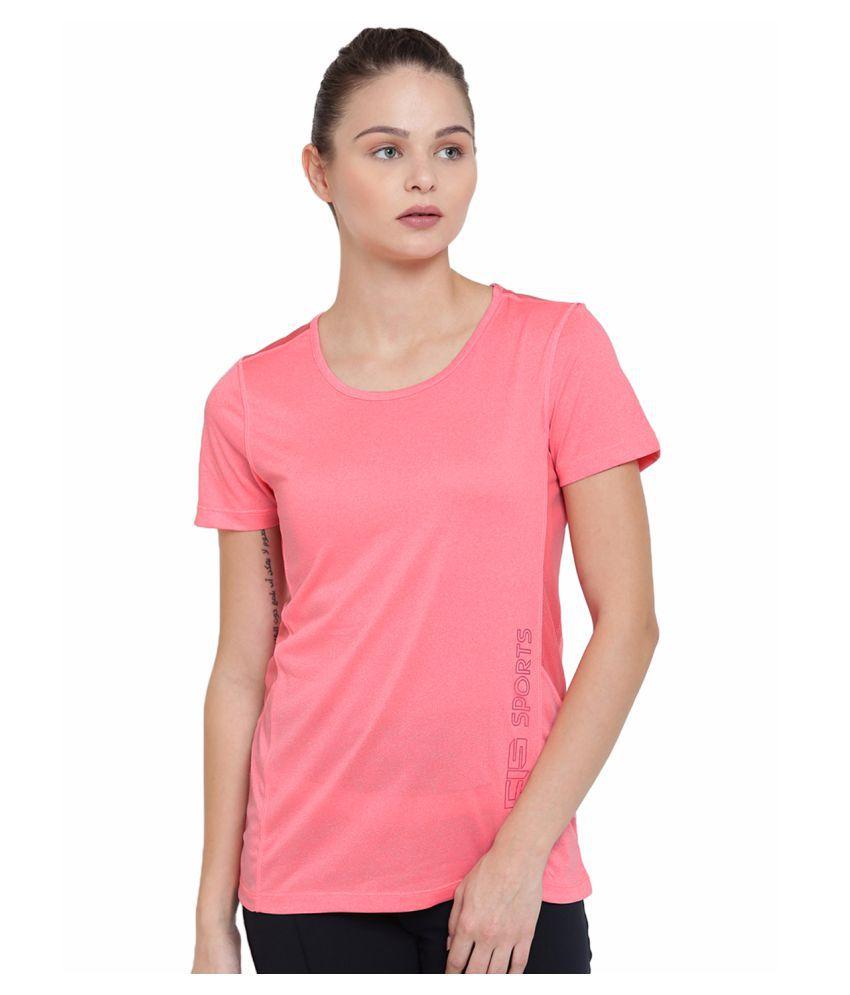 Alcis Womens Pink Tee