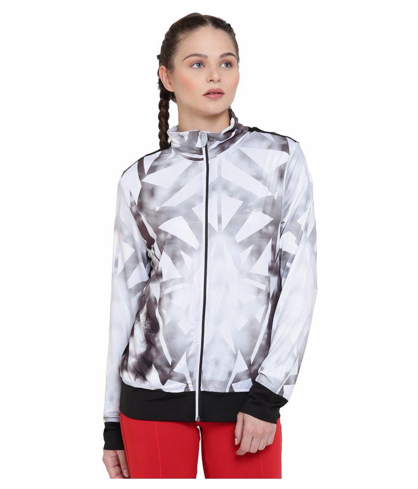 Alcis Womens White Jacket