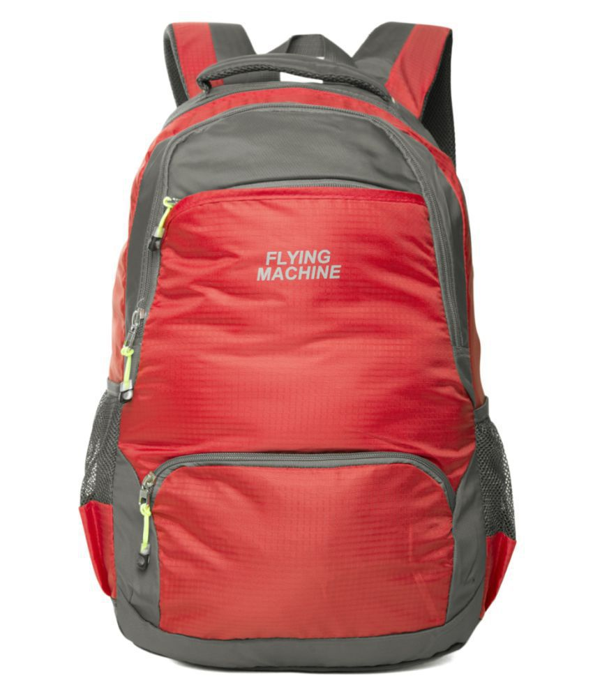 Flying Machine Red Backpack