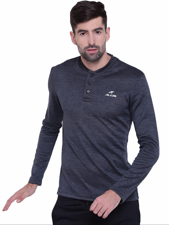 Alcis Mens Black Polo Tshirt