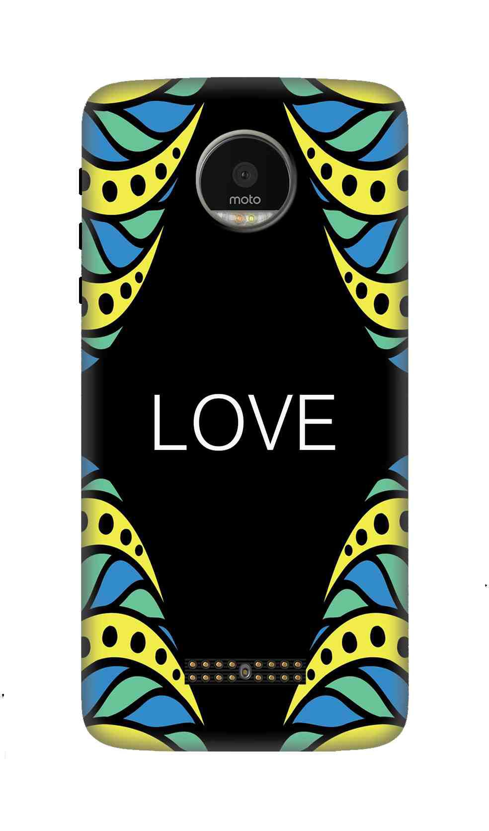Moto Z Force 3D Back Covers By Wow