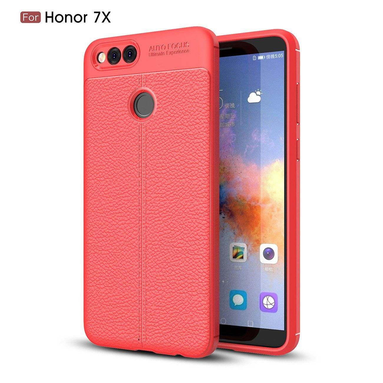 new style 0ecc5 53505 Honor 7x Soft Silicon Cases Wow Imagine - Red