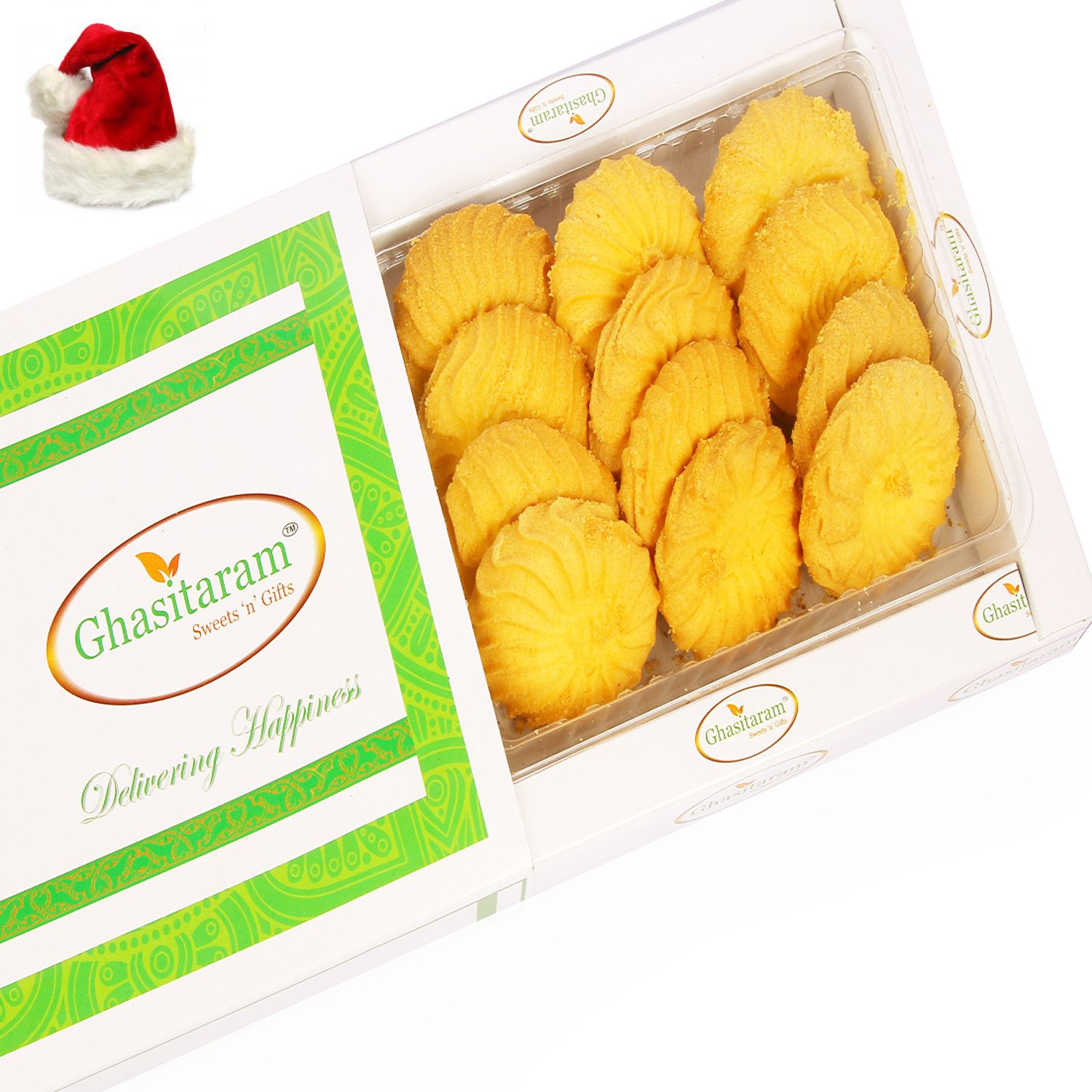 Ghasitaram Gifts Christmas Gifts Cookies Assorted Box Butter Cookies ...