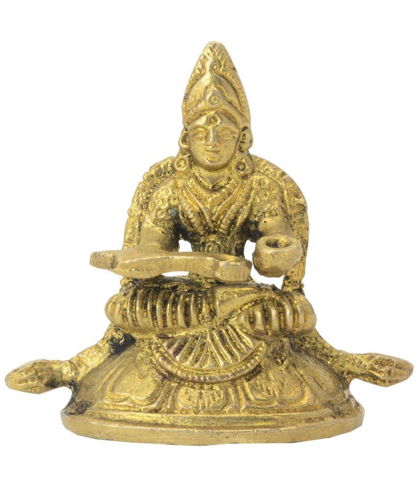 bharathaat Saraswati Brass Idol