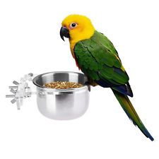 Pets Empire Bird Feeding Bowl With Clamp 500ml