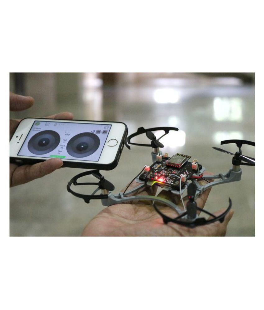 Pluto Smartphone Controlled DIY Nano-Drone Quadcopter Kit - Buy