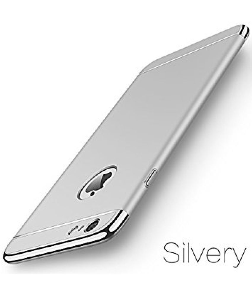 Apple iPhone 7 Plain Cases Ipaky   Silver