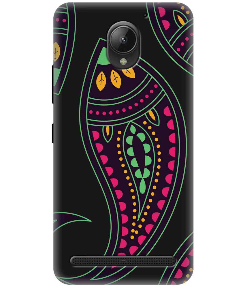 Lenovo Vibe C2 3D Back Covers By Wow