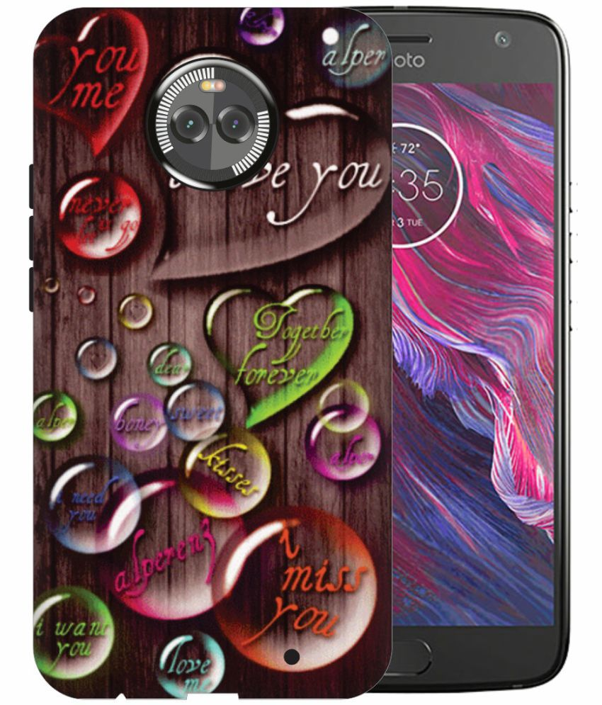 Motorola Moto X4 3D Back Covers By Printland
