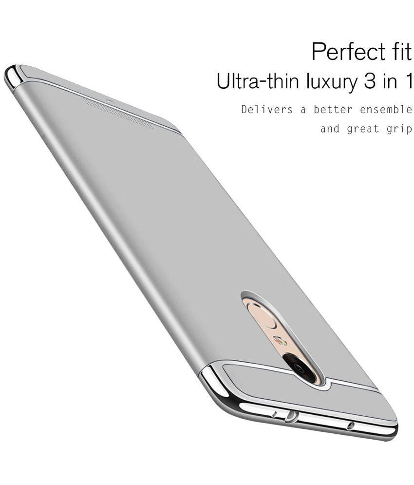 wholesale dealer dc33c ac396 Xiaomi MI A1 Plain Cases Ipaky - Silver