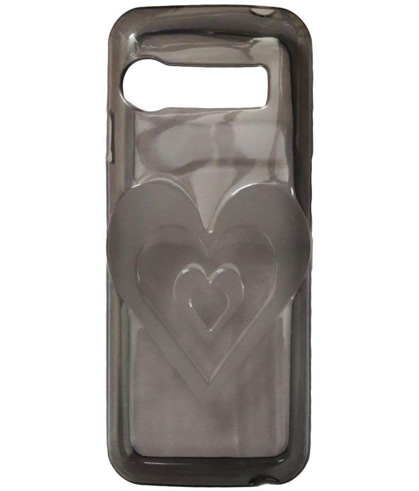 big sale a18cd 22098 LYF Jio Phone F90M Plain Cases ibnelite - Transparent