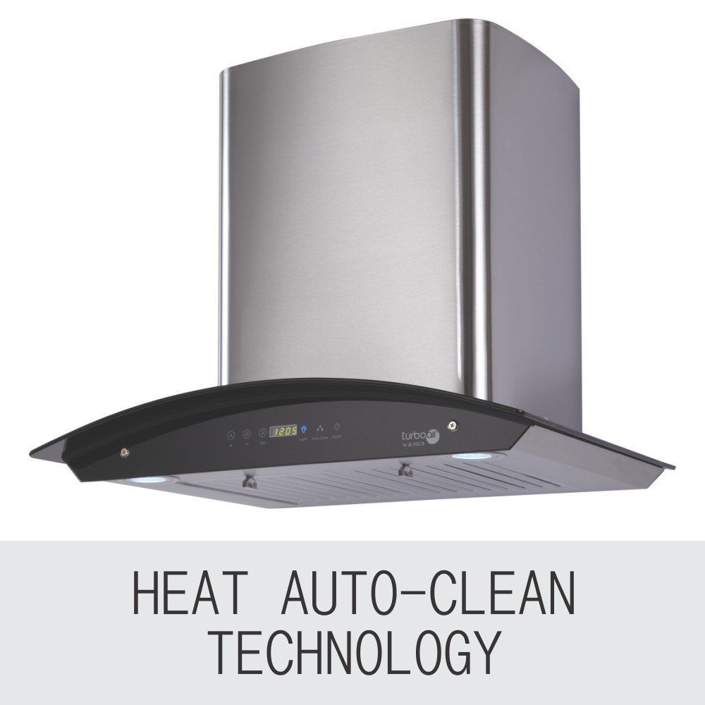 Elica 1200 m3/h Heat Auto Clean with Touch Control 60 cm (OSB HAC ...