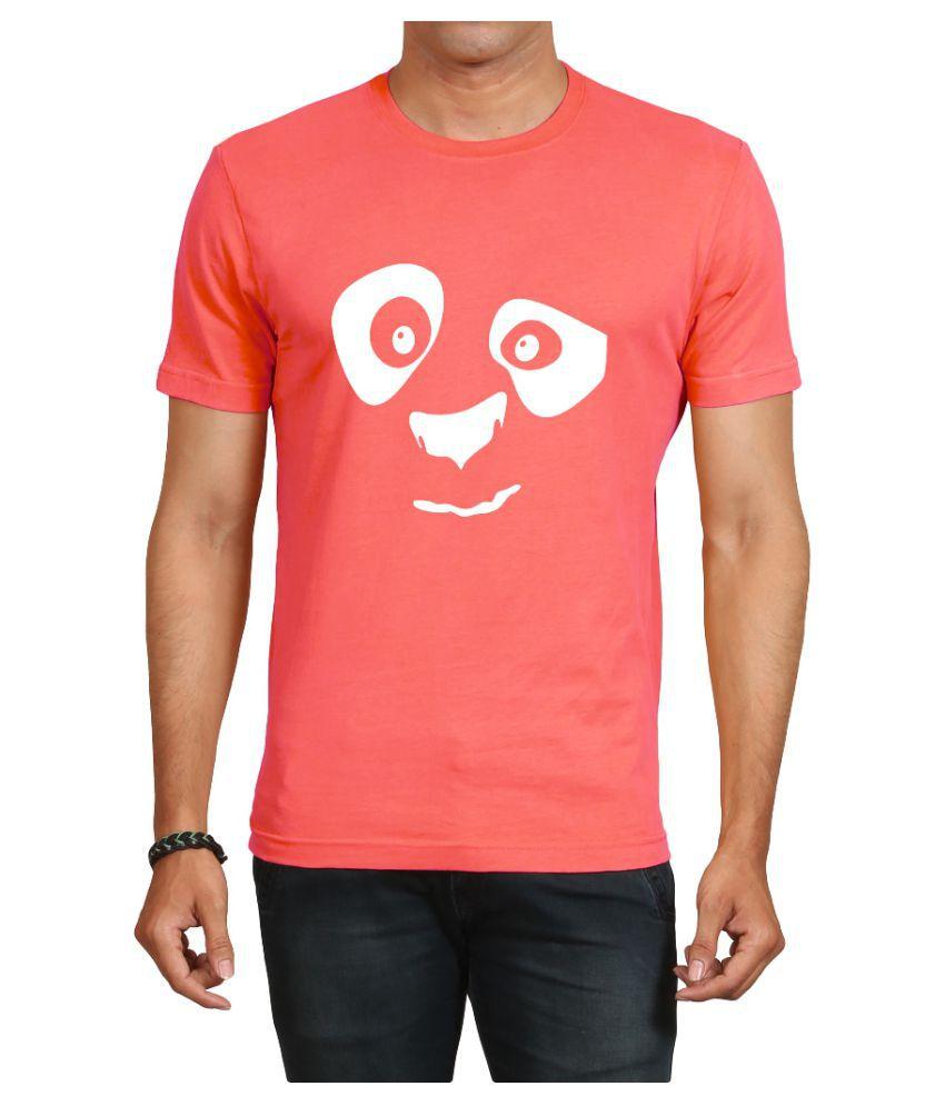 IND TWIST Pink Round T-Shirt Pack of 1