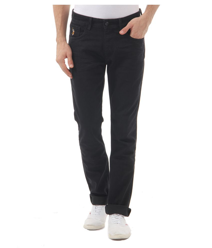 U.S. Polo Assn. Black Slim Jeans