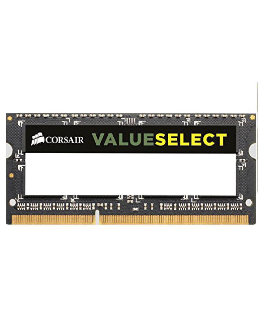 Corsair 4GB DDR3 1600 MHz Laptop Memory 15V