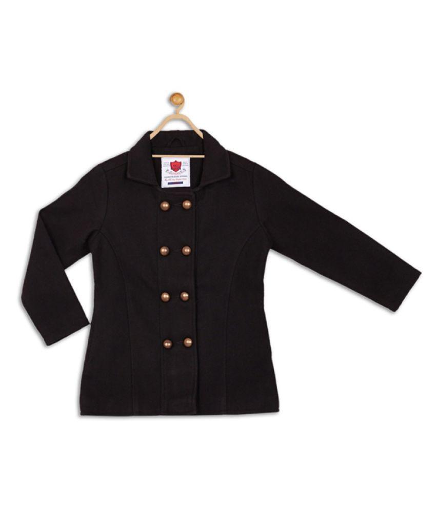 612 League Black Girls Coat