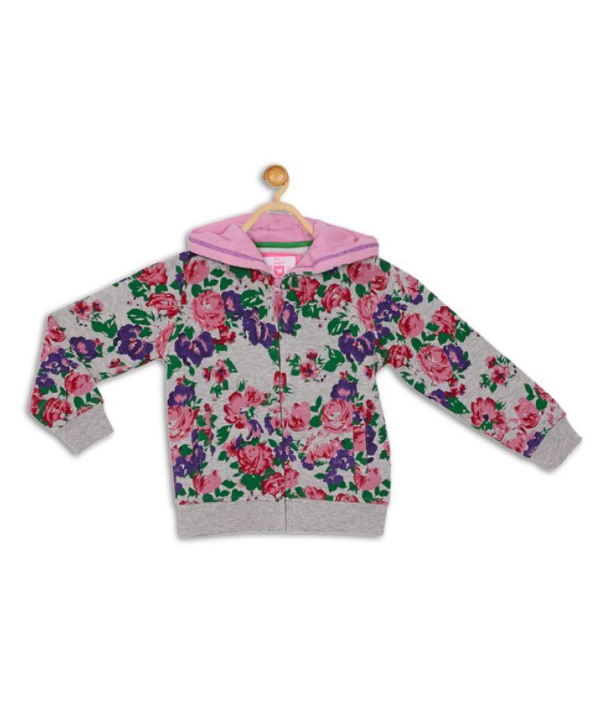 612 League Grey Girls Sweatshirt