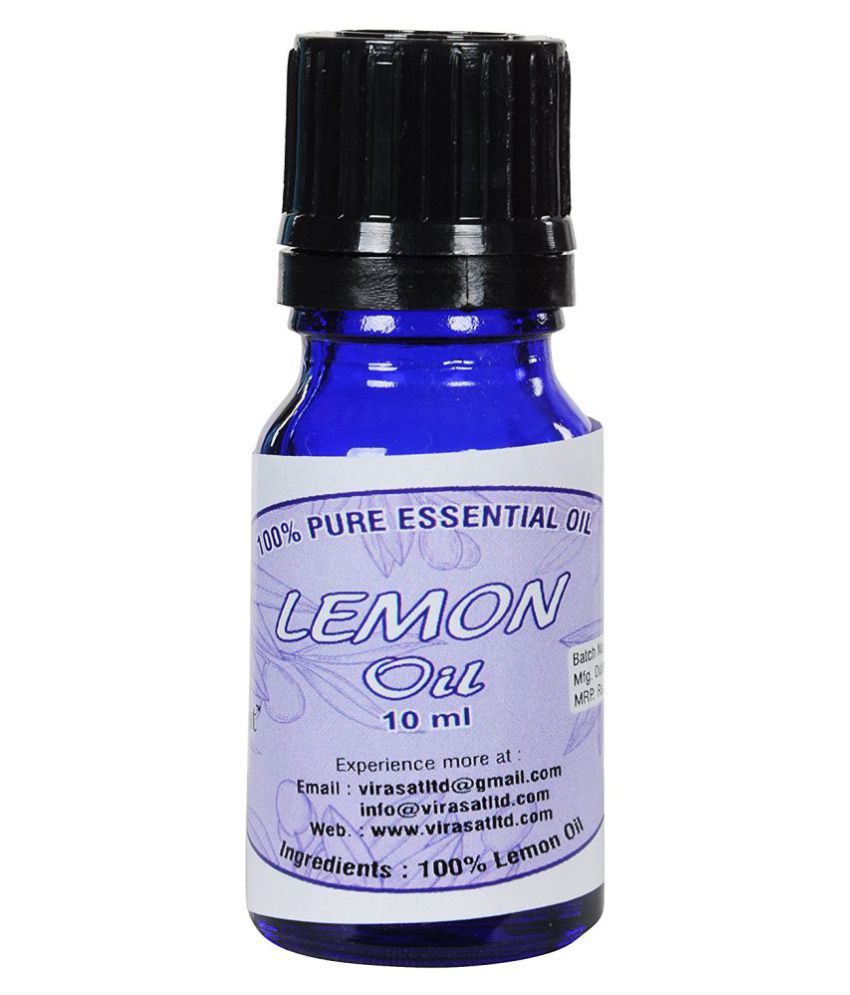 Virasat Lemon  Essential Oil 10 ml
