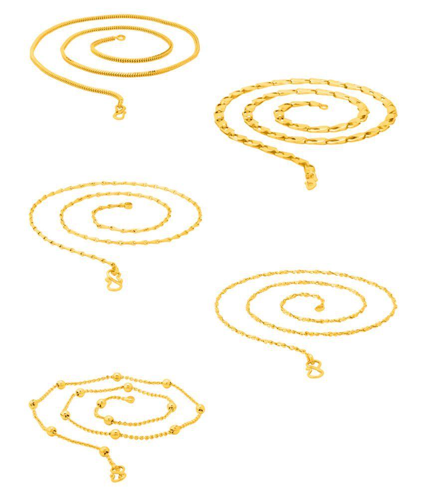 DARE by Voylla Versatile Chains Combo