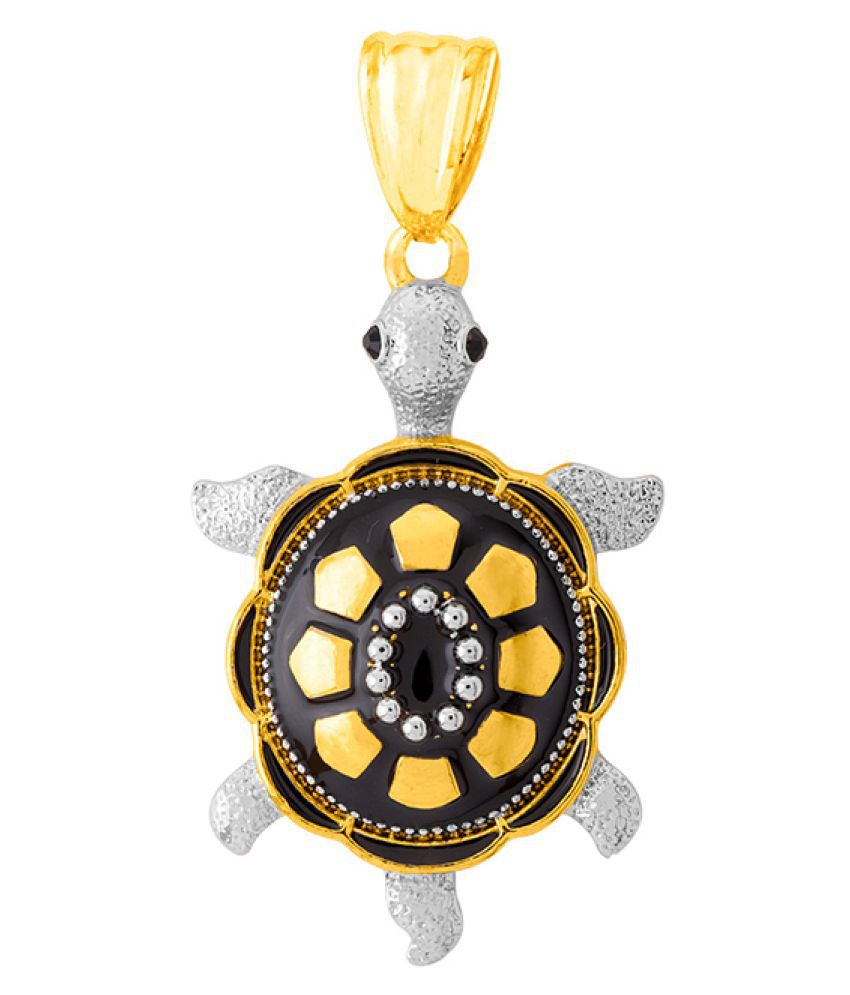 Dare by Voylla Tortoise Pendant Without Chain For Men
