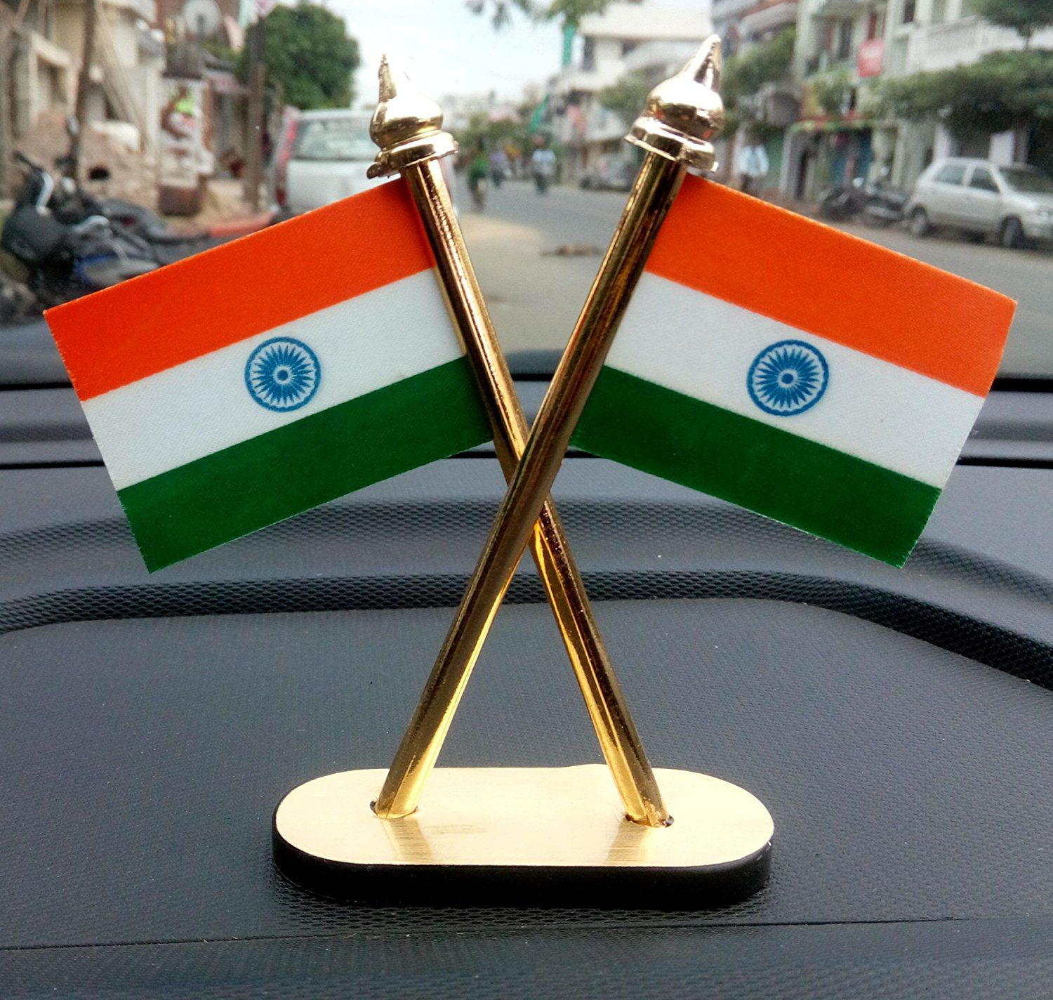 Takecare Indian Flag For Car Dashboard: Buy Takecare
