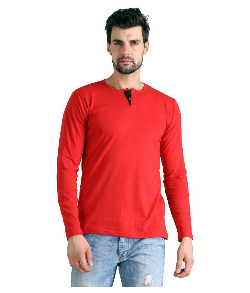 FLINGR Multi Henley T-Shirt Pack of 1