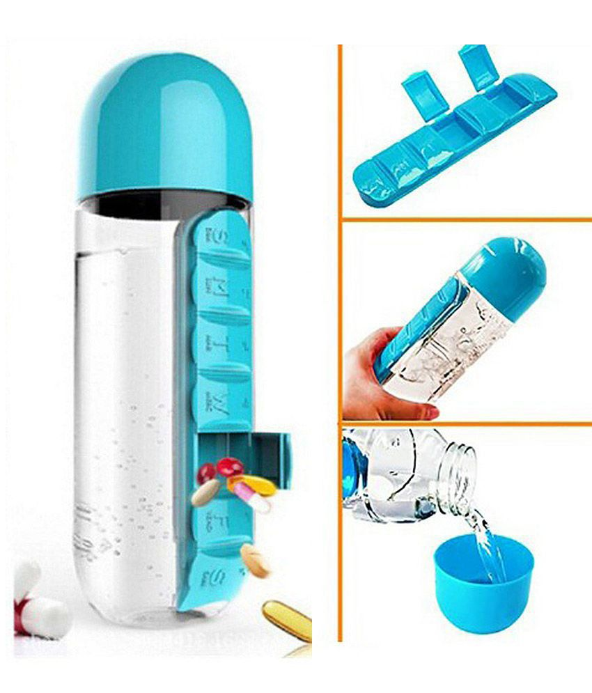 Image result for pill and vitamin organizer water bottle
