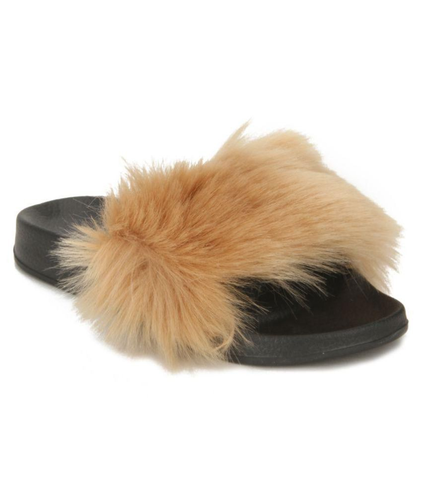Truffle Collection Brown Slippers