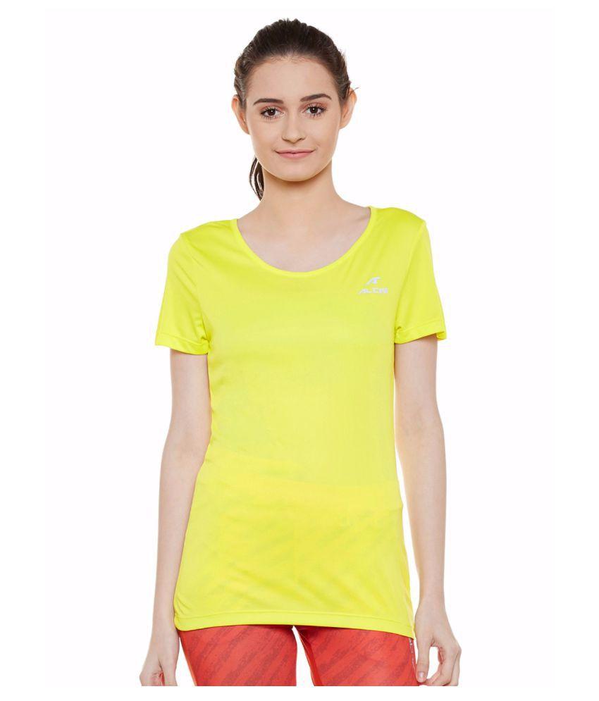 Alcis Women Yellow Wonder Tee