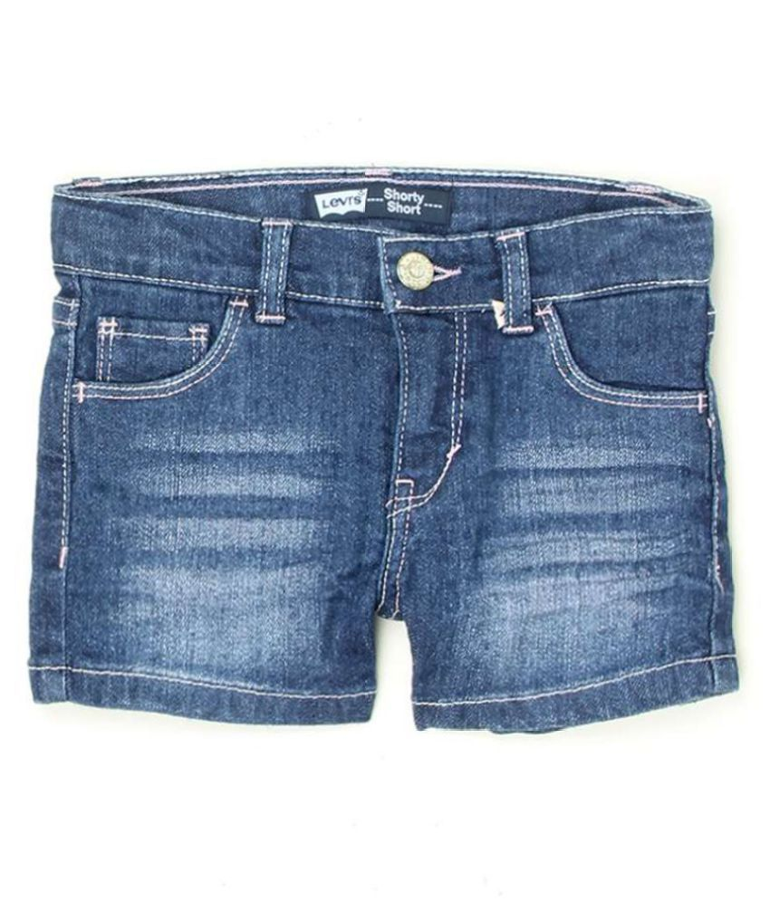 Levi's Girls Blue Short