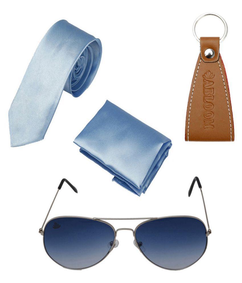 Abloom Multicolor Aviator Sunglasses ( NFFMSG0031 )