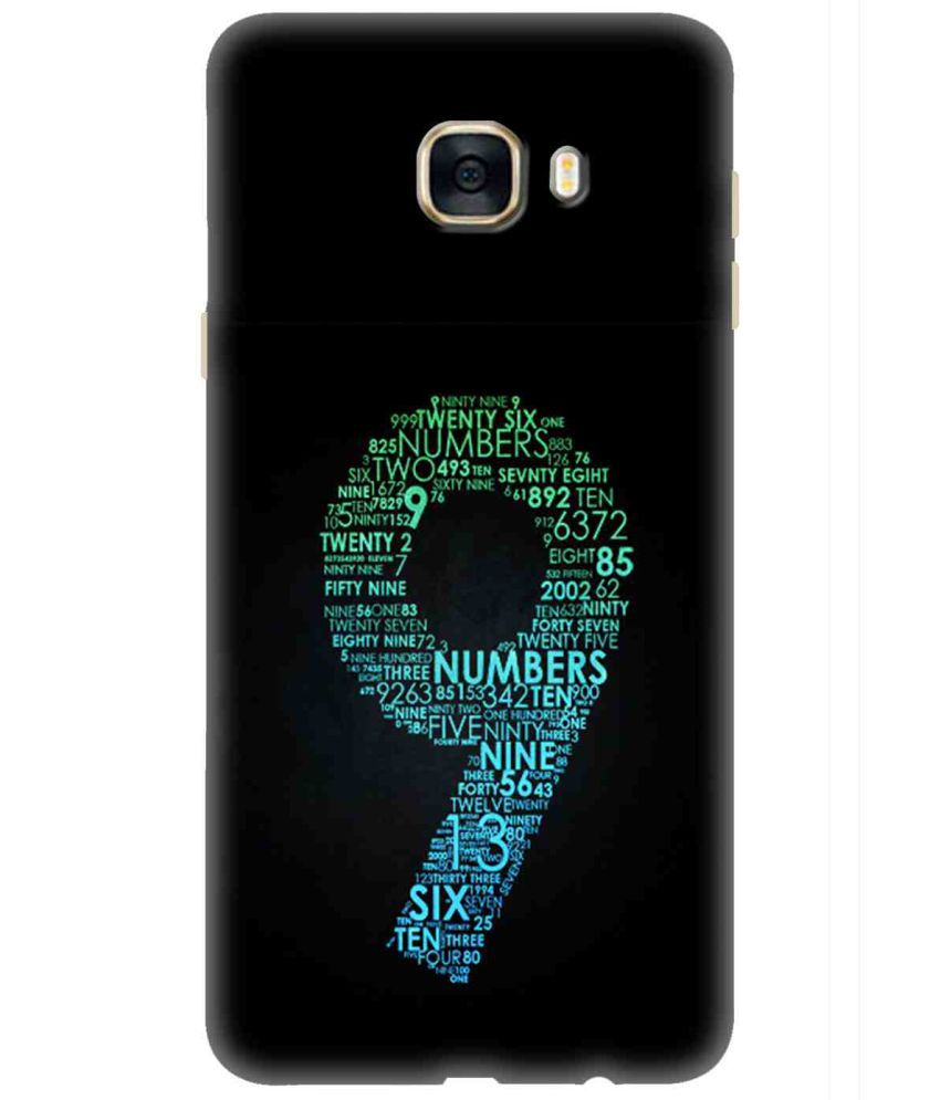 Samsung Galaxy C7 3D Back Covers By TrilMil
