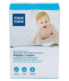 Mee Mee Baby One Way Nappy Liners-100 Liners