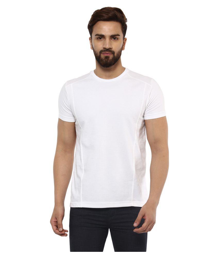 Mufti White Round T-Shirt Pack of 1