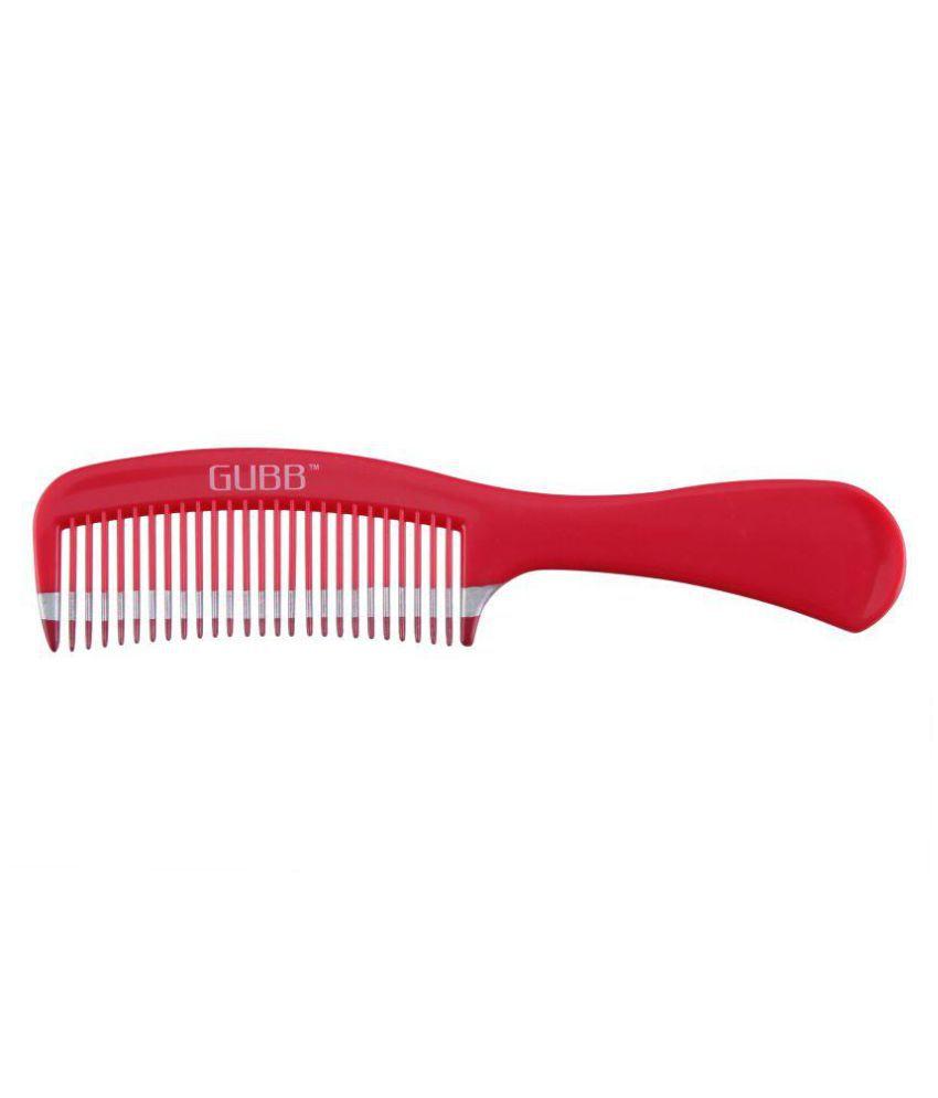 Gubb NEW VITAL DETANGLING HAIR COMB Wide tooth Comb