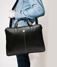 HAMMONDS FLYCATCHER Latest Design Brown Leather Laptop Office Bag