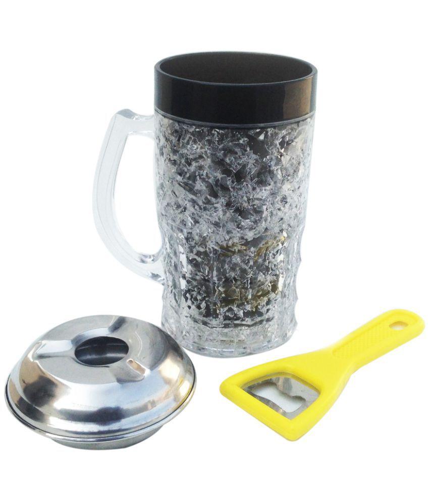 Indeavour Glass Coffee Mug 1 Pcs 320 ml
