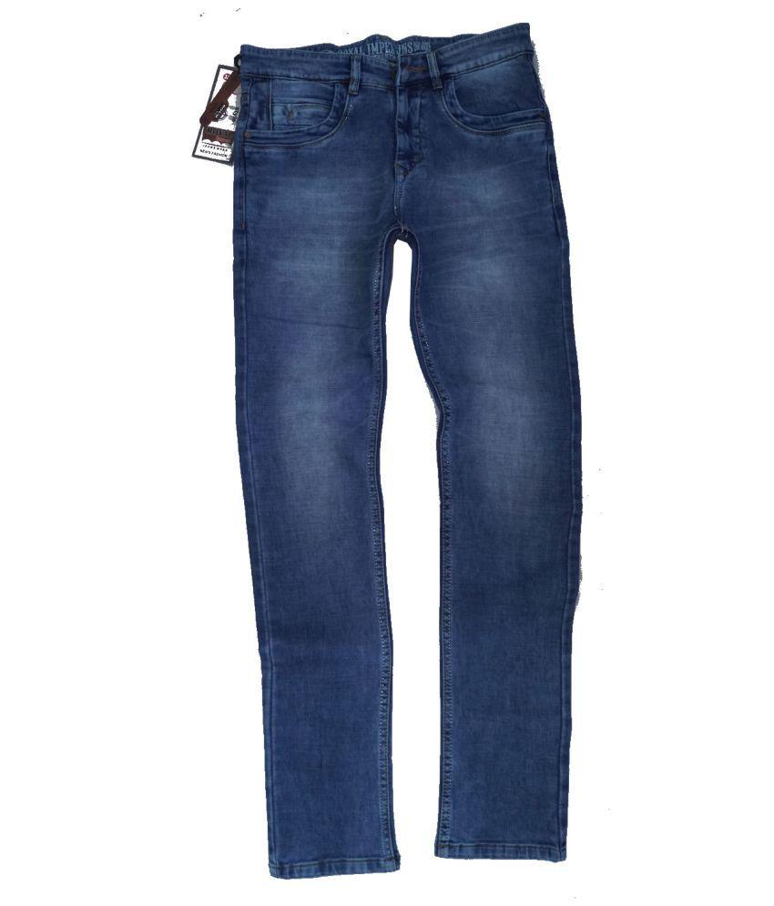 Royal Impex Blue Slim Jeans