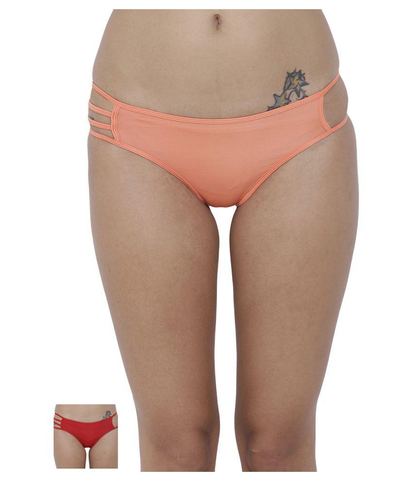 BASIICS by La Intimo Polyester Bikini Panties