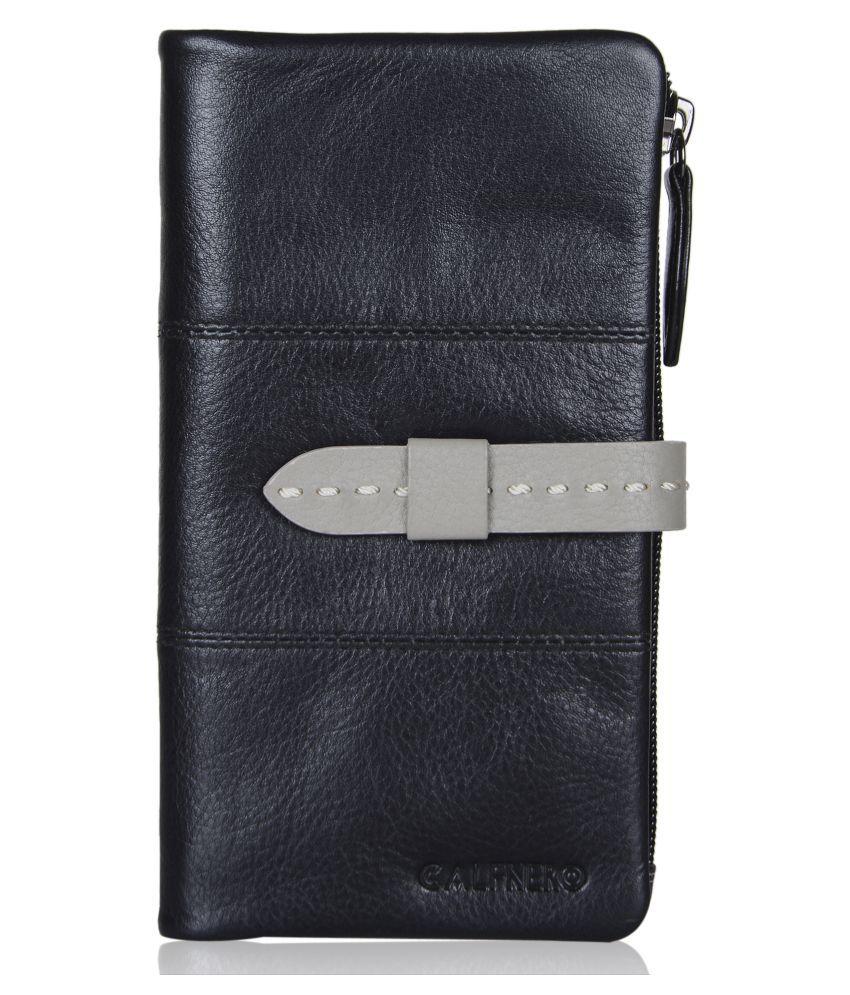 Calfnero Black Wallet