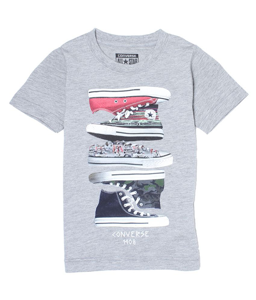 6198c31545d0cf Converse Kids Boys T-Shirt - Buy Converse Kids Boys T-Shirt Online at Low  Price - Snapdeal