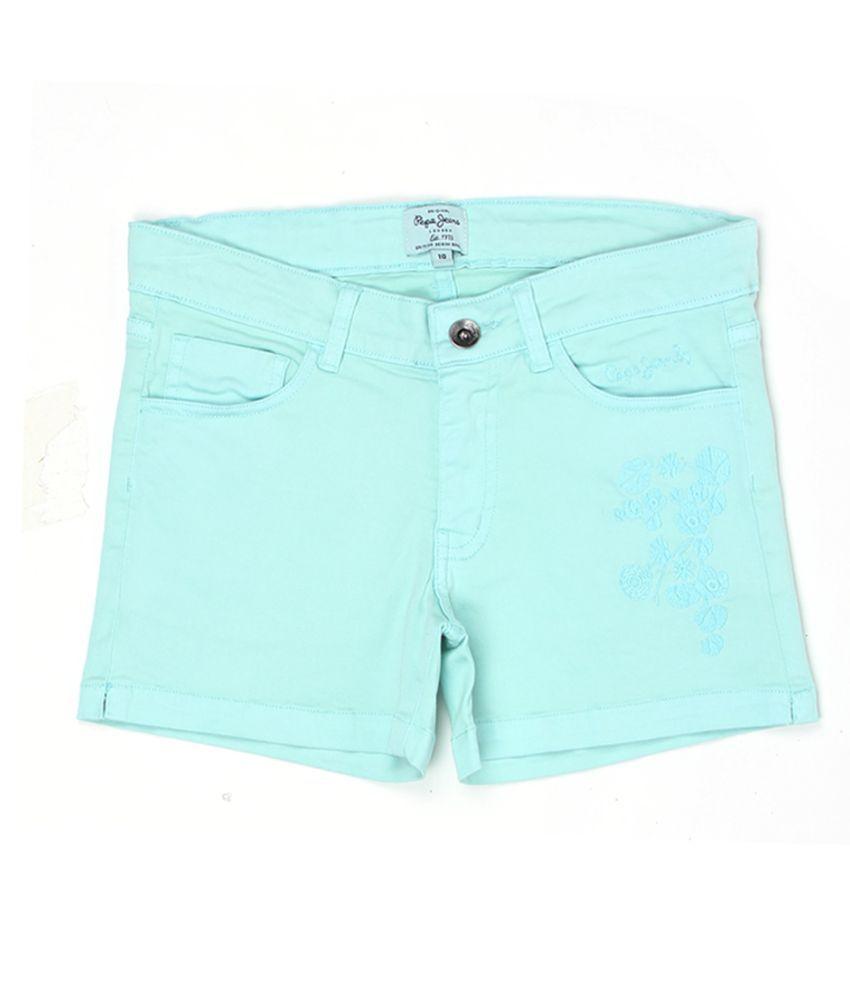 Pepe Jeans Girls Green Short