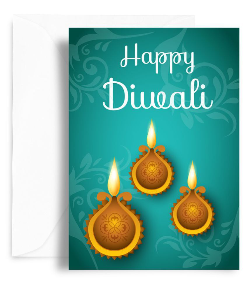 Kaarti happy diwali greeting card sk0532 buy online at best price kaarti happy diwali greeting card sk0532 m4hsunfo
