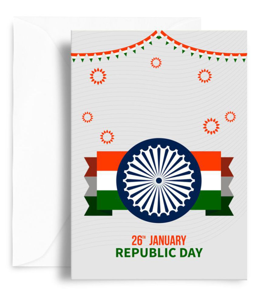 Kaarti Republic Day Greeting Card - SK0752: Buy Online at ...