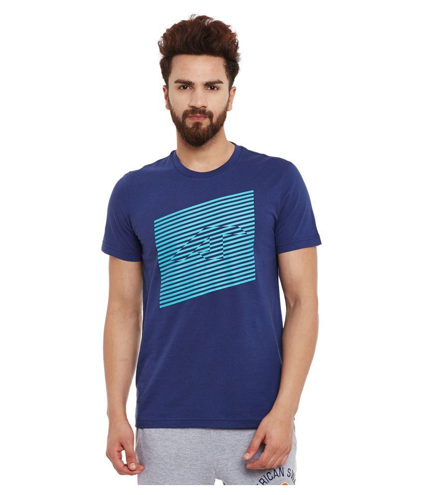 ALCIS MENS BLUE T-Shirts
