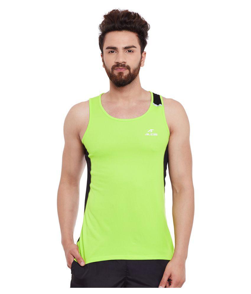 ALCIS MENS GREEN T-Shirts