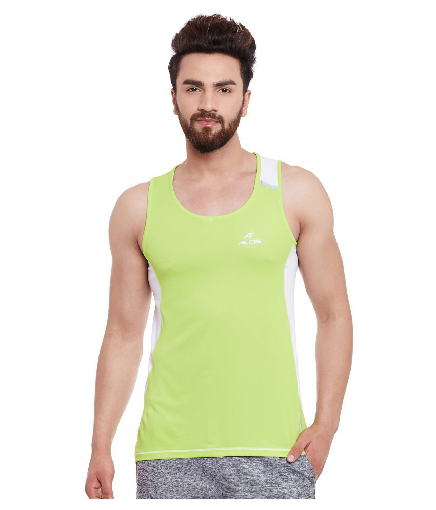 ALCIS MENS GREEN T-Shirts