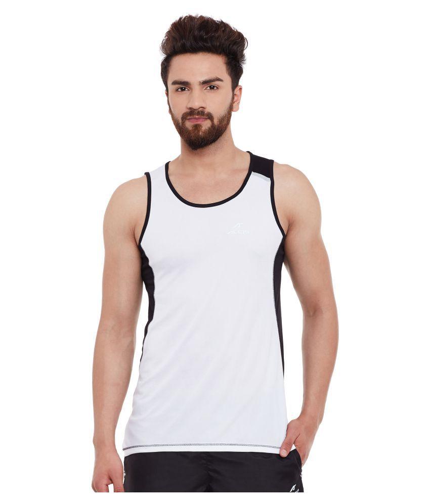 ALCIS MENS WHITE T-Shirts