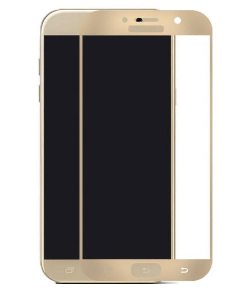 Samsung Galaxy A7 (2017) Color Glass Screen Guard By TELE SHIELD